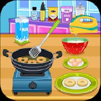cooking donuts gameskip