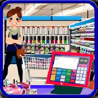 cosmetic business shop: makeup store cashier gameskip