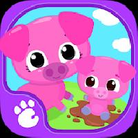 cute and tiny farm animals - baby pet village gameskip
