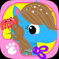 cute and tiny horses - baby pony care and hair salon gameskip