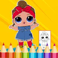 dolls surprise coloring book lol gameskip