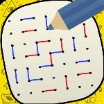 dots and boxes - squares gameskip