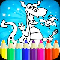 drawing for kids - dragon