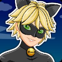 dress up cat noir miraculous fashion style gameskip