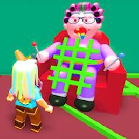 escape grandma crazy house obby mod gameskip