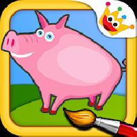 farm - animal puzzle for kids gameskip