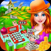 farm store cashier girl - cash register gameskip