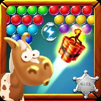 fashion horse bubble shooter