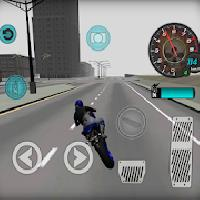 fast motorcycle driver 3d gameskip
