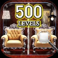 find the differences 500 levels gameskip