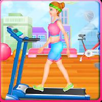 fit girl - workout and dress up gameskip