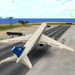 flight simulator: fly plane 3d gameskip