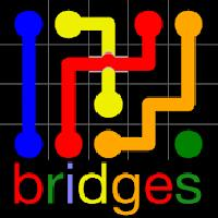 flow free: bridges gameskip