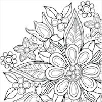 flower mandala coloring book gameskip
