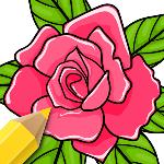 flowers coloring pages gameskip