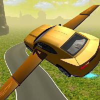 flying muscle car simulator 3d
