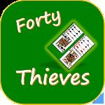 forty thieves solitaire gameskip