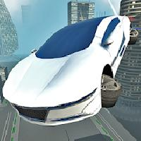 futuristic flying car driving gameskip