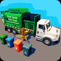 garbage truck and recycling sim gameskip