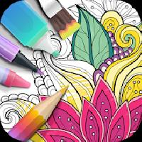 garden coloring book gameskip