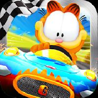 garfield kart gameskip