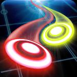glow air hockey space gameskip