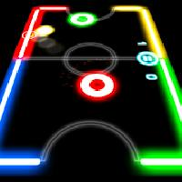 glow hockey gameskip