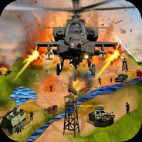 gunship air helicopter war 3d gameskip