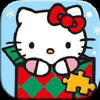 hello kitty christmas puzzles gameskip