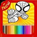 hero coloring book gameskip