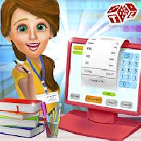 high school book store cashier - kids game gameskip