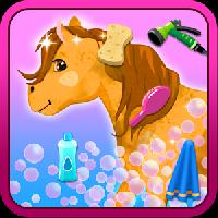 horse princess wash and cleanup gameskip