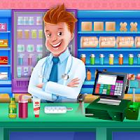 hospital store cash register: doctor shop manager gameskip