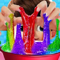 how to make glitter slime maker kids gameskip