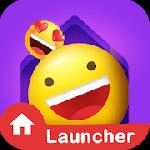 in launcher - themes, emojis and gifs gameskip