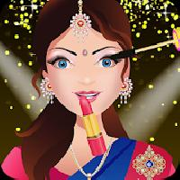 indian bride dress up makeover gameskip