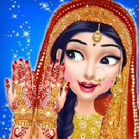 indian bride wedding fashion makeover gameskip