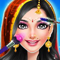 indian wedding and bride game - spa makeup dressup gameskip