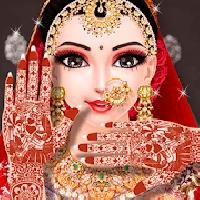 indian wedding makeover and makeup : part 1 gameskip