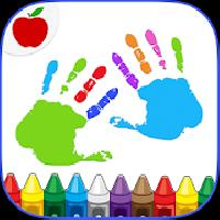 kids finger painting coloring gameskip