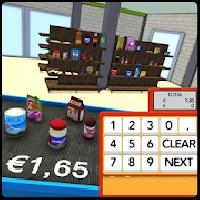 kids self scan supermarket sim gameskip