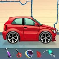 kids sports car wash salon auto workshop station gameskip