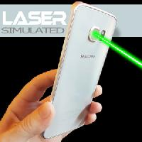 laser simulated and bubble space