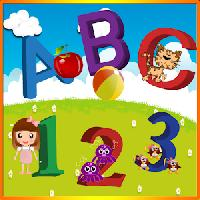 learn abcd 1234 color and shapes gameskip