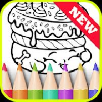 learn painting coloring for shopkins by fans gameskip