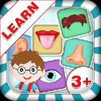 learn parts of body: kids fun gameskip