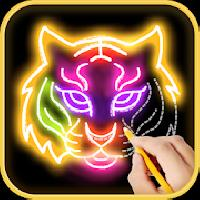 learn to draw glow zoo gameskip