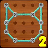 line puzzle 2 : string art gameskip