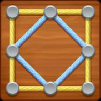 line puzzle: string art gameskip