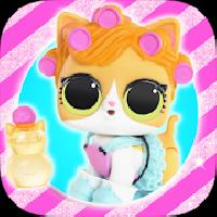 lol surprise pets  : ball doll eggs toys gameskip
